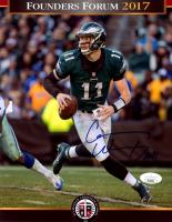 Carson Wentz Signed Eagles 8x10 Photo (JSA COA) at PristineAuction.com