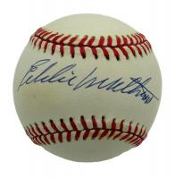 Eddie Mathews Signed ONL Baseball (PSA COA) at PristineAuction.com