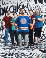 """""""Comic Book Men"""" 16x20 Photo Signed by (4) with Mike Zapcic, Ming Chen, Walt Flanagan & Bryan Johnson (Dave & Adams COA) at PristineAuction.com"""