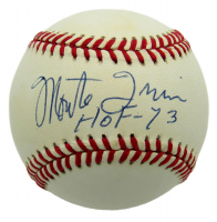 "Monte Irvin Signed ONL Baseball Inscribed ""HOF - 73"" (PSA COA) at PristineAuction.com"