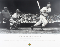 Ted Williams LE Red Sox Triple Crown 21x29.5 Lithograph at PristineAuction.com