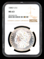 1880-S $1 Morgan Silver Dollar (NGC MS63) at PristineAuction.com