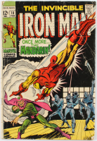 """1968 """"The Invincible Iron Man: Once More...the Mandarin!"""" Issue #10 Marvel Comic Book at PristineAuction.com"""