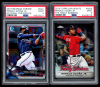 Lot of (2) PSA Graded 9 Aaron Judge Baseball Cards with 2013 Bowman Chrome Draft Draft Picks #BDPP19 & 2019 Topps Chrome Update The Family Business #FBC8 at PristineAuction.com