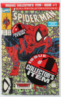 """1990 """"Spider-Man"""" Issue #1 Marvel Comic Book (Factory Sealed) at PristineAuction.com"""