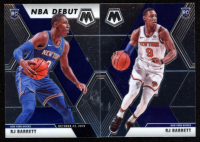 Lot of (2) RJ Barrett Basketball Cards with 2019-20 Panini Mosaic #270 & 2019-20 Panini Mosaic #229 RC at PristineAuction.com