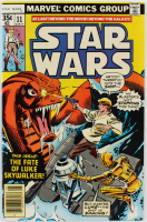 """1978 """"Star Wars"""" Issue #11 Marvel Comic Book at PristineAuction.com"""