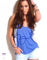 Chloe Bennet Signed 8x10 Photo (PSA COA) at PristineAuction.com