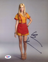 "Beth Behrs Signed ""2 Broke Girls"" 8x10 Photo (PSA COA) at PristineAuction.com"