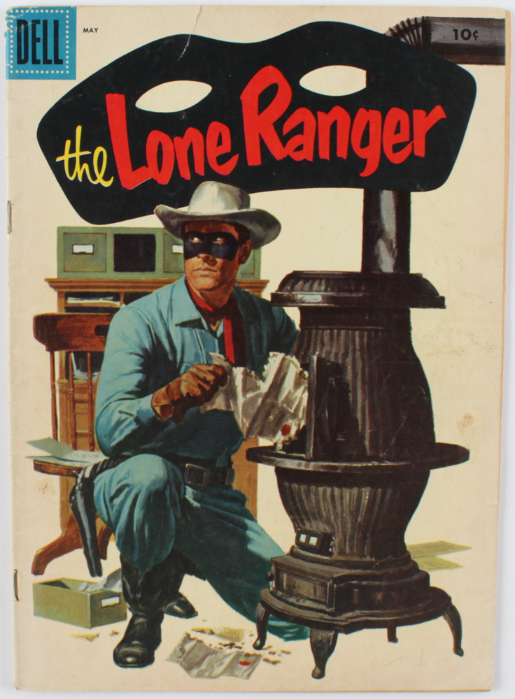 "1956 ""The Lone Ranger"" Issue #95 Dell Comic Book at PristineAuction.com"