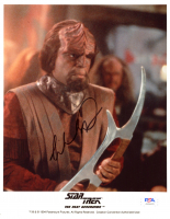 "Michael Dorn Signed ""Star Trek: The Next Generation"" 8x10 Photo (PSA COA) at PristineAuction.com"
