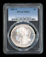 1881-S $1 Morgan Silver Dollar (PCGS MS63) at PristineAuction.com