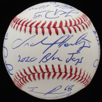 2020 Blue Jays OML Baseball Signed By (19) With Charlie Montoyo, Danny Jansen, T.J. Zeuch, Teoscar Hernandez (JSA ALOA) at PristineAuction.com