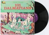 "Vintage 1965 Original Walt Disney ""101 Dalmations"" Vinyl LP Record Album at PristineAuction.com"