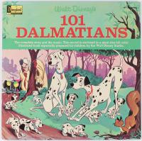 "Vintage 1965 Original Walt Disney ""101 Dalmations"" Vinyl LP Record Album at PristineAuction.com"