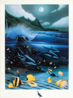 "Wyland Signed ""Hanalei Bay"" Limited Edition 15x21 Mixed Media at PristineAuction.com"