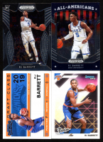 Lot of (4) RJ Barrett Basketball Cards with 2019-20 Panini Prizm Draft Picks #62 AA,  2019-20 Panini Prizm Draft Picks #3, 2019-20 Donruss Optic The Rookies #3 & 2019-20 Panini Contenders '19 Draft Class Contenders #3 at PristineAuction.com