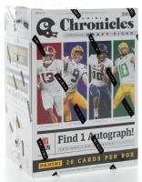 2020 Panini Chronicles Draft Picks Football Blaster Box with (4) Packs at PristineAuction.com