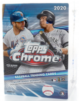 2020 Topps Chrome Baseball Blaster Box with (8) Packs at PristineAuction.com