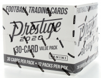 2020 Prestige Football Value Box with (12) Packs at PristineAuction.com