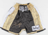 Floyd Mayweather Jr. Signed Hublot Boxing Trunks (Beckett Hologram) at PristineAuction.com