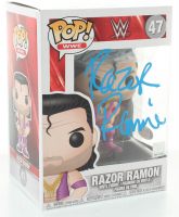 "Razor Ramon Signed ""WWE"" #47 Funko Pop! Vinyl Figure (PSA Hologram) at PristineAuction.com"