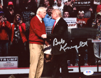 Bob Knight Signed 8x10 Photo (PSA Hologram) at PristineAuction.com