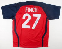 Jennie Finch Signed Jersey (Beckett COA) at PristineAuction.com