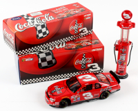 Set of (2) Dale Earnhardt Jr. 1998 #3 Coke Die-Cast Racing Model Items with LE Monte Carlo 1:24 Scale Car & 1:16 Scale LE Gas Pump Coin Bank at PristineAuction.com