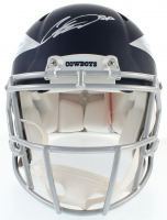 CeeDee Lamb Signed Cowboys Authentic On-Field Full-Size AMP Speed Helmet (Fanatics Hologram) at PristineAuction.com