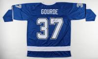 Yanni Gourde Signed Jersey (JSA COA) at PristineAuction.com