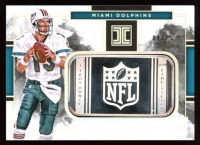Dan Marino 2018 Panini Impeccable Silver NFL Shields #39 at PristineAuction.com