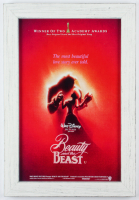 """Beauty and the Beast"" 13x19 Custom Framed Movie Poster Display at PristineAuction.com"