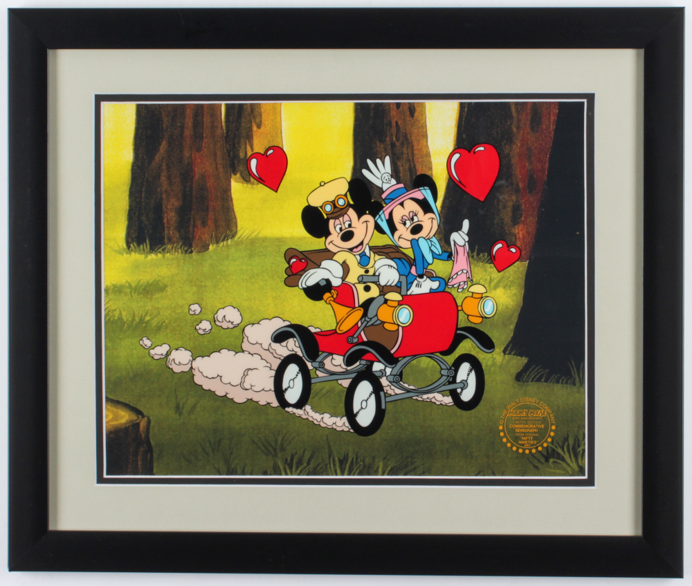 "Walt Disney's Goofy LE ""Nifty Nineties"" 16x19 Custom Framed Animation Serigraph Display at PristineAuction.com"