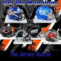 """The Jersey Source """"Chase the Manning's Mini Series"""" Mini Helmet Mystery Box - Series CS-1 at PristineAuction.com"""
