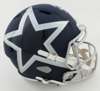 Michael Gallup Signed Cowboys Full-Size AMP Alternate Speed Helmet (JSA COA) at PristineAuction.com