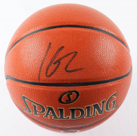 """Klay Thompson Signed """"The Finals"""" NBA Game Ball Series Basketball (Beckett Hologram) at PristineAuction.com"""