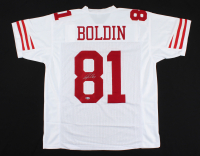 Anquan Boldin Signed Jersey (Beckett COA) at PristineAuction.com