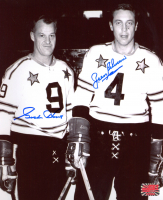 Gordie Howe & Jean Beliveau Signed NHL All-Star Game 8x10 Photo (YSMS COA) at PristineAuction.com