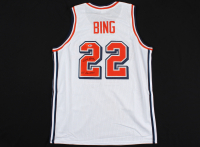 "Dave Bing Signed Jersey Inscribed ""All American"" (Beckett COA) at PristineAuction.com"