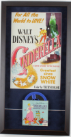 """""""Cinderella"""" 14.5x27.5 Custom Framed Poster Display With 10.33mm Film at PristineAuction.com"""