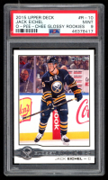 Jack Eichel 2015-16 O-Pee-Chee Glossy Rookies #R10 (PSA 9) at PristineAuction.com