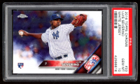 Luis Severino 2016 Topps Chrome Refractors #33 (PSA 10) at PristineAuction.com