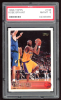 Kobe Bryant 1996-97 Topps #138 RC (PSA 8) at PristineAuction.com