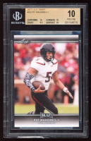 Pat Mahomes II 2017 Leaf Draft #56 (BGS 10) at PristineAuction.com