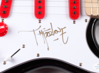 "Todd McFarlane Signed 39"" Electric Guitar (AutographCOA LOA) at PristineAuction.com"