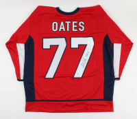 """Adam Oates Signed Jersey Inscribed """"HOF 12""""(Beckett COA) at PristineAuction.com"""
