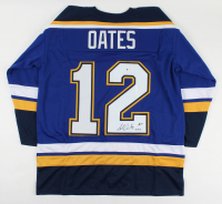 "Adam Oates Signed Jersey Inscribed ""HOF 2012""(Beckett COA) at PristineAuction.com"