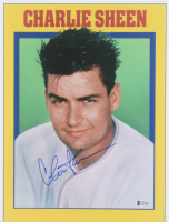 "Charlie Sheen Signed ""Major League"" 11x14 Photo (Beckett COA) at PristineAuction.com"