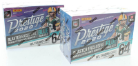 Lot of (2) 2020 Panini Prestige Football Blaster Box of (64) Cards at PristineAuction.com
